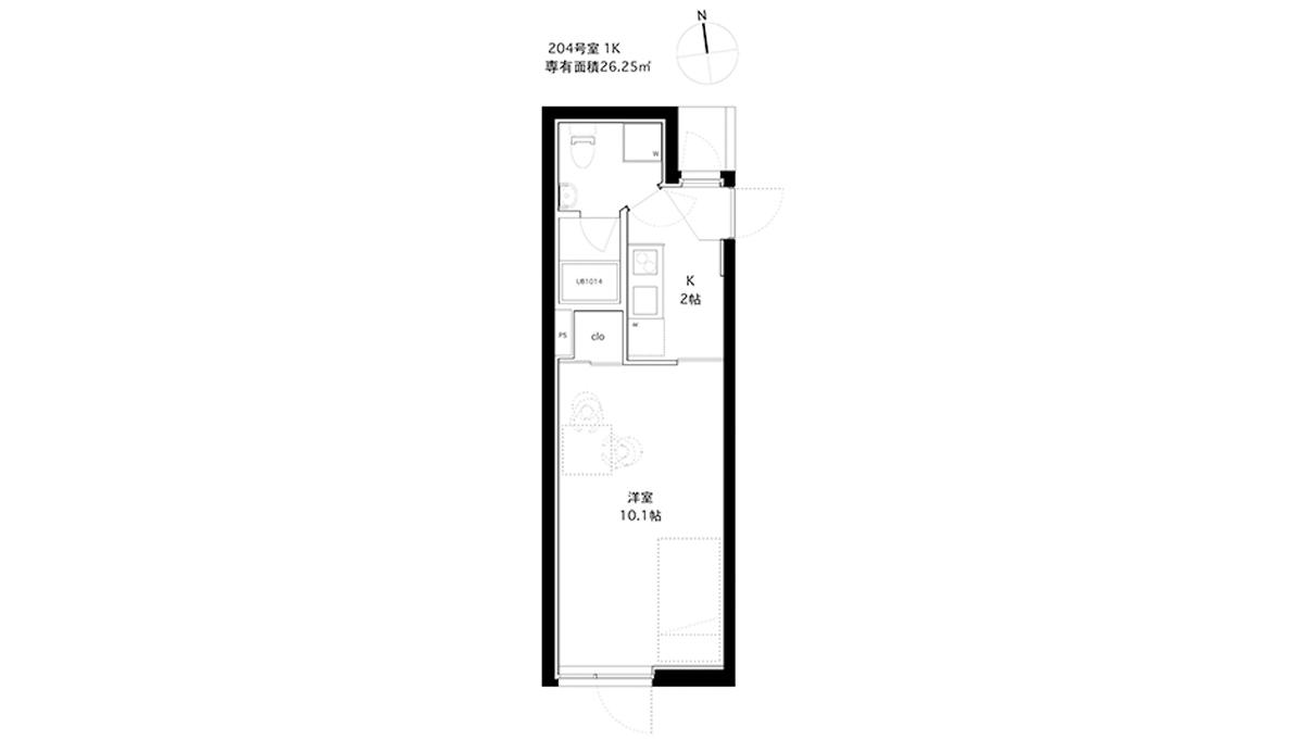 spec-residence-kamiikedai-floor-plan