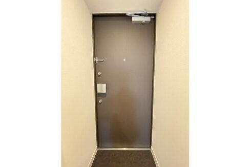 ウェルスクエアイズム武蔵小山(ムサシコヤマ)の玄関扉