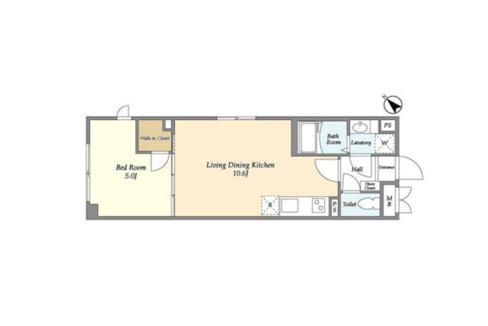 well-square-ism-musashikoyama-floor-plan-401
