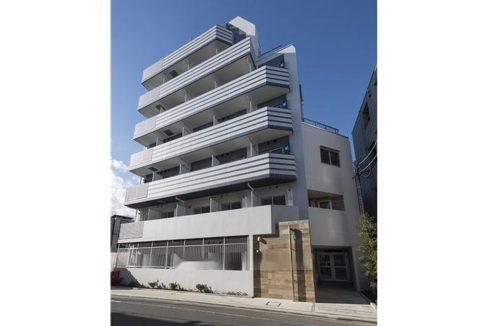 B CITY APARTMENT SHINAGAWA WEST(ビー シティ アパートメント シナガワ ウエスト)の外観