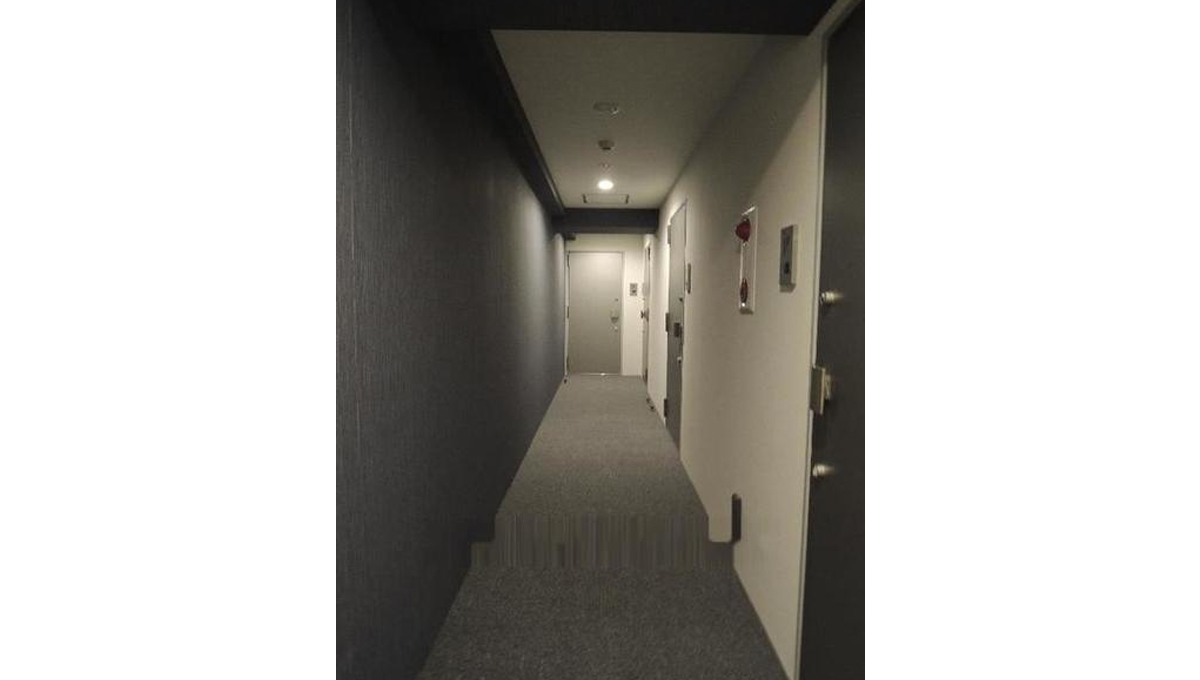 B CITY APARTMENT SHINAGAWA WEST(ビー シティ アパートメント シナガワ ウエスト)の内廊下