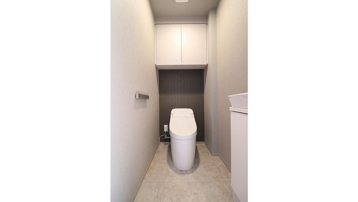 バウスフラッツ品川大井町(シナガワオオイマチ)のウォシュレット付トイレ
