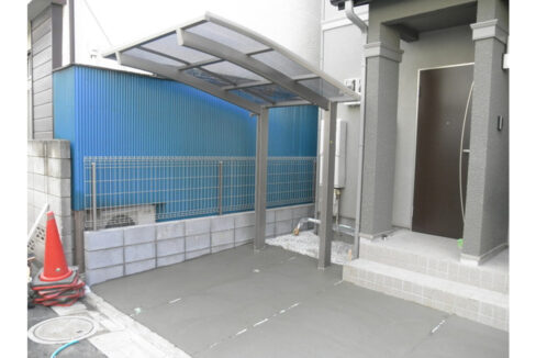 ボヌール旗の台(ハタノダイ)の玄関