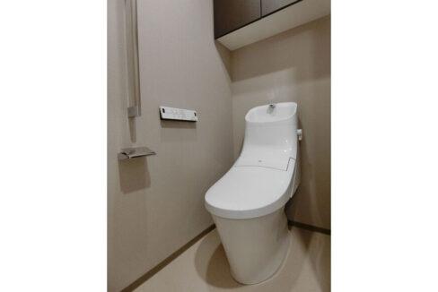 シティータワー大井町(オオイマチ)のウォシュレット付きトイレ