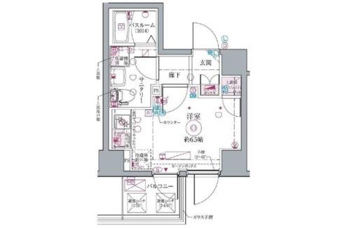 crevista-togoshi-koen-floor-plan-d
