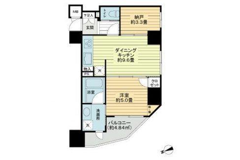 duo-scala-shinagawa-nakanobu-2-floor-plan