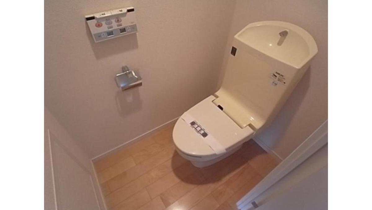 Feel U 旗の台(ハタノダイ)のウォシュレット付きトイレ