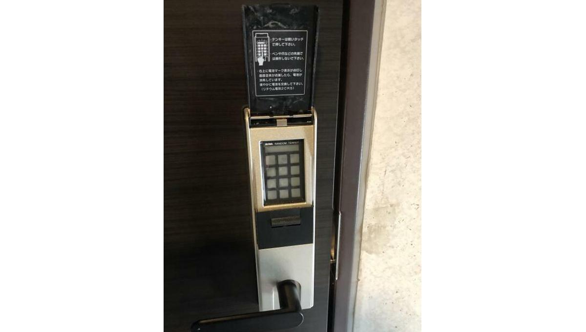 フェリオ南千束(ミナミセンゾク)の玄関ドア