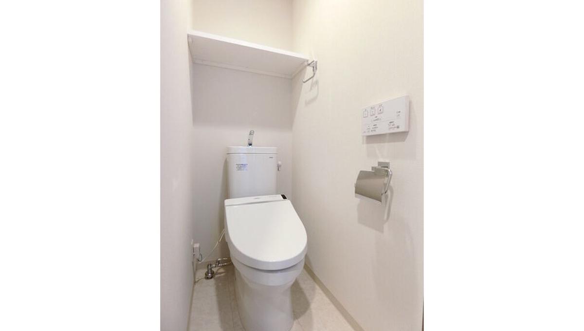 ガーラヒルズ武蔵小山(ムサシコヤマ)のウォシュレット付トイレ