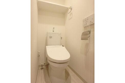 ガーラプレシャス大井町(オオイマチ)のウォシュレット付トイレ