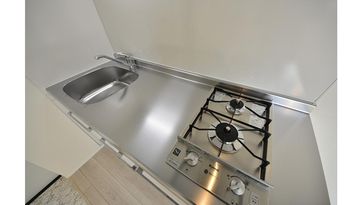 グランエッグス洗足池(センゾクイケ)のキッチンワークトップ