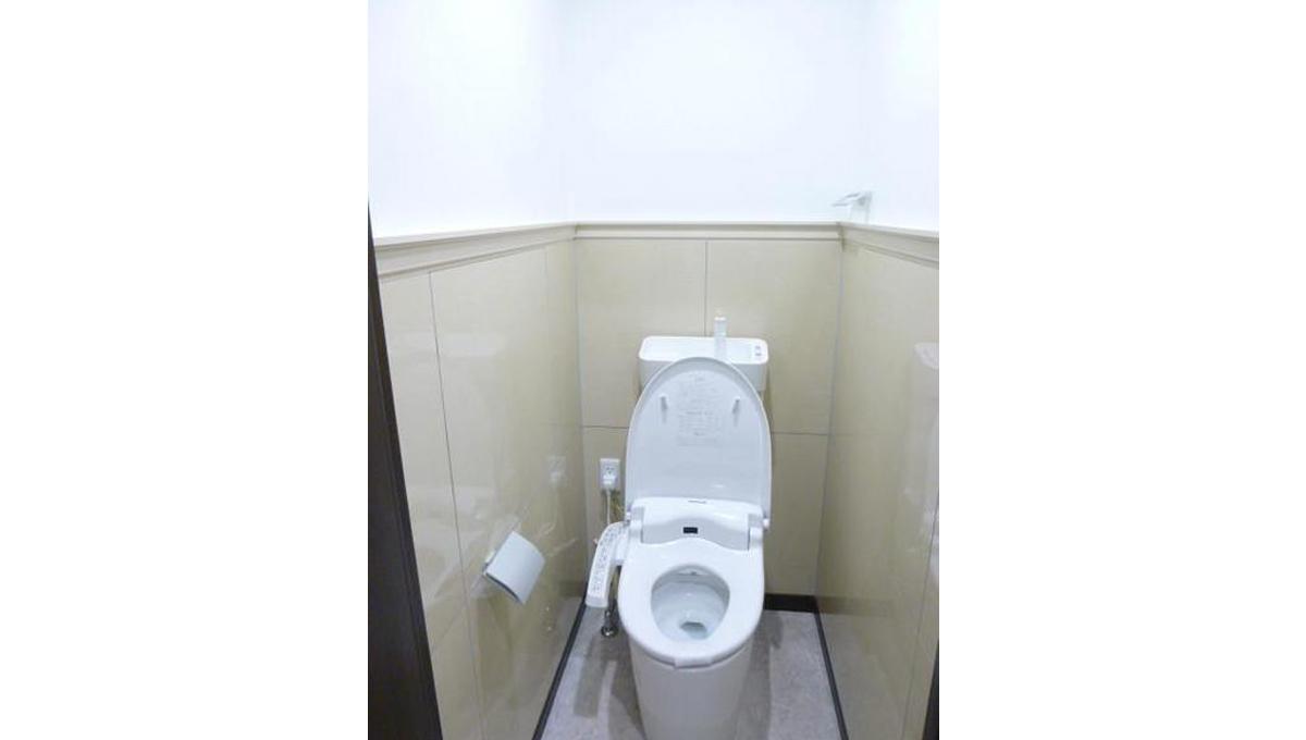 グランエステート大井(オオイ)のウォシュレット付トイレ
