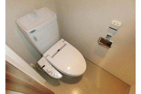 ヒューリック荏原(エバラ)のウォシュレット付トイレ