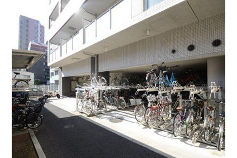 KDXレジデンス戸越(トゴシ)の駐輪場