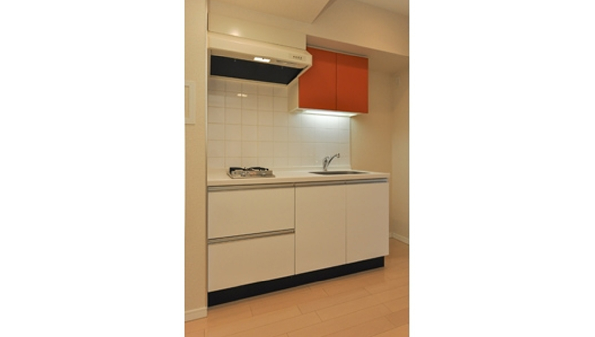 KDXレジデンス戸越(トゴシ)の2口ガスシステムキッチン