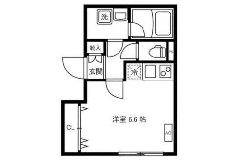 LEGALAND大岡山Annex(オオオカヤマ)の間取図