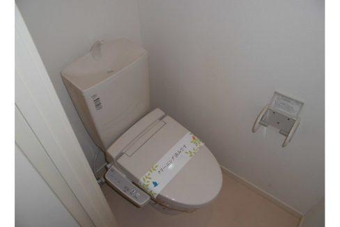 オランジュリー上池台(カミイケダイ)のウォシュレット付トイレ