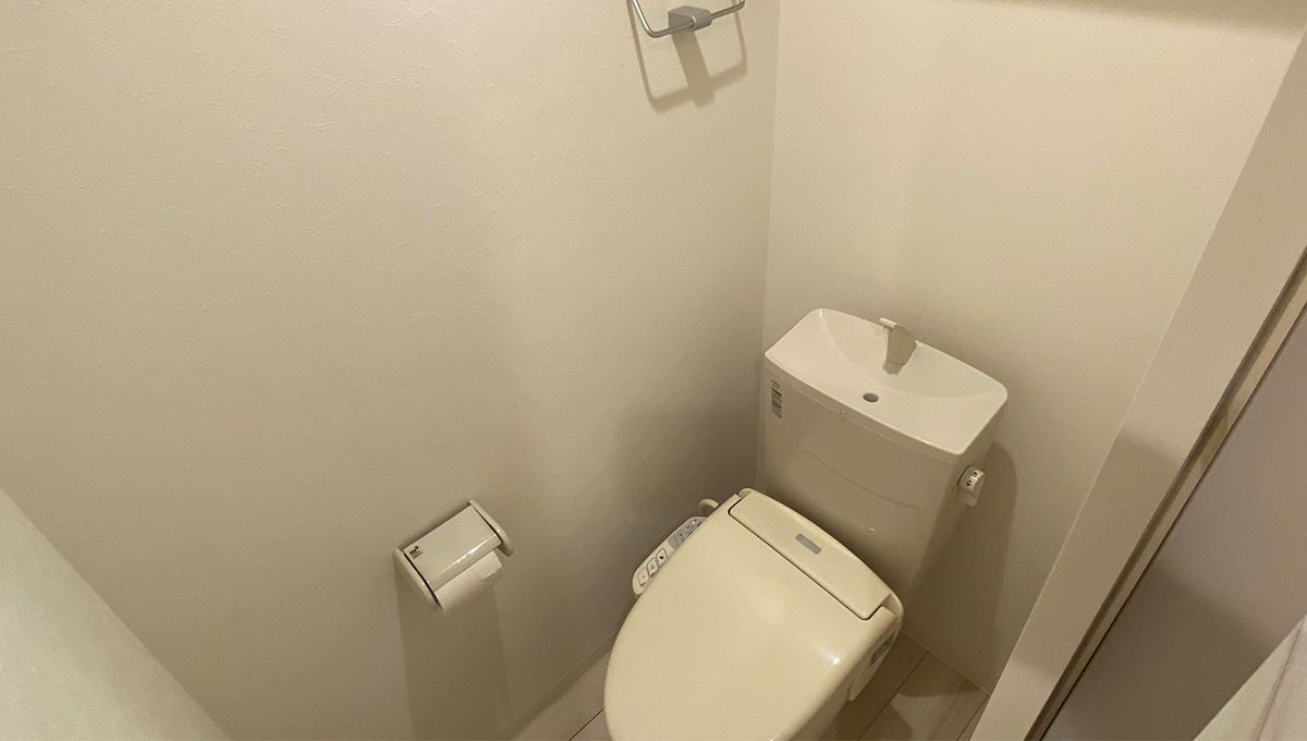 ミハス武蔵小山(ムサシコヤマ)のウォシュレット付トイレ