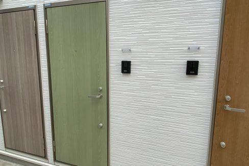 ミハス西小山(ニシコヤマ)の玄関