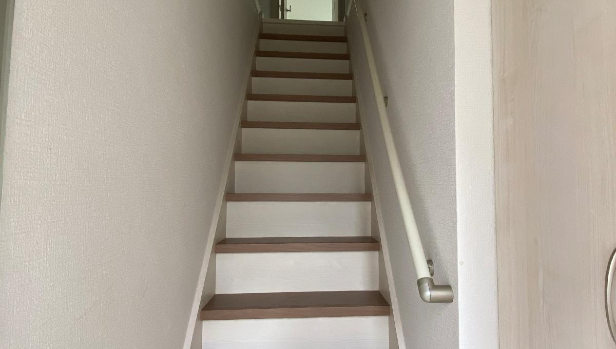 ミハス西小山(ニシコヤマ)の階段