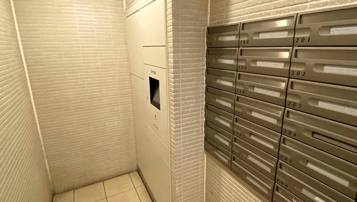 パシフィックコート目黒南(メグロミナミ)の宅配ボックス