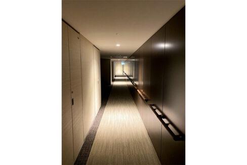 パークシティ武蔵小山ザ・タワー(ムサシコヤマ)の内廊下
