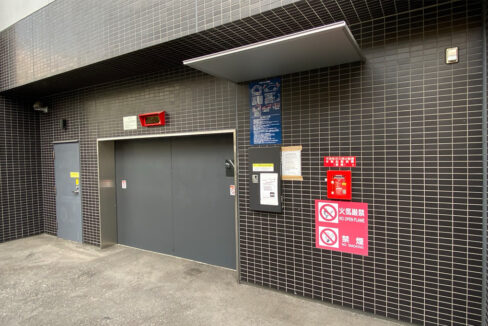 Park Cube 大井町(パークキューブオオイマチ)レジデンスの駐車場