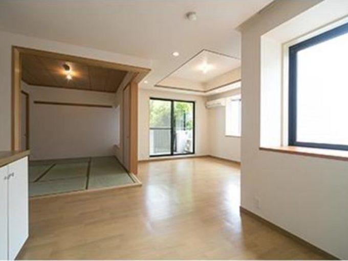 パーク・ハイム旗の台(ハタノダイ)のリビング・ダイニング・キッチン