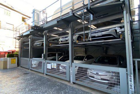 パークホームズ大岡山ラヴィアンコート(オオオカヤマ)の機械式駐車場