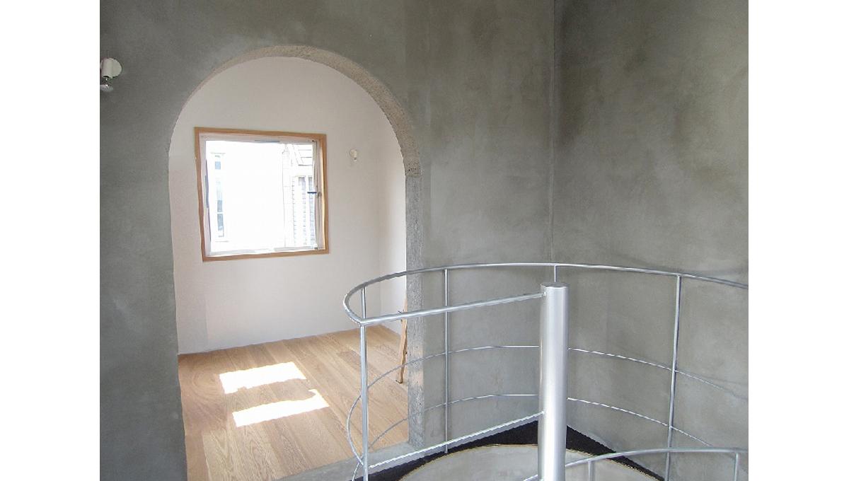 Parsley House(パセリハウス)の螺旋階段
