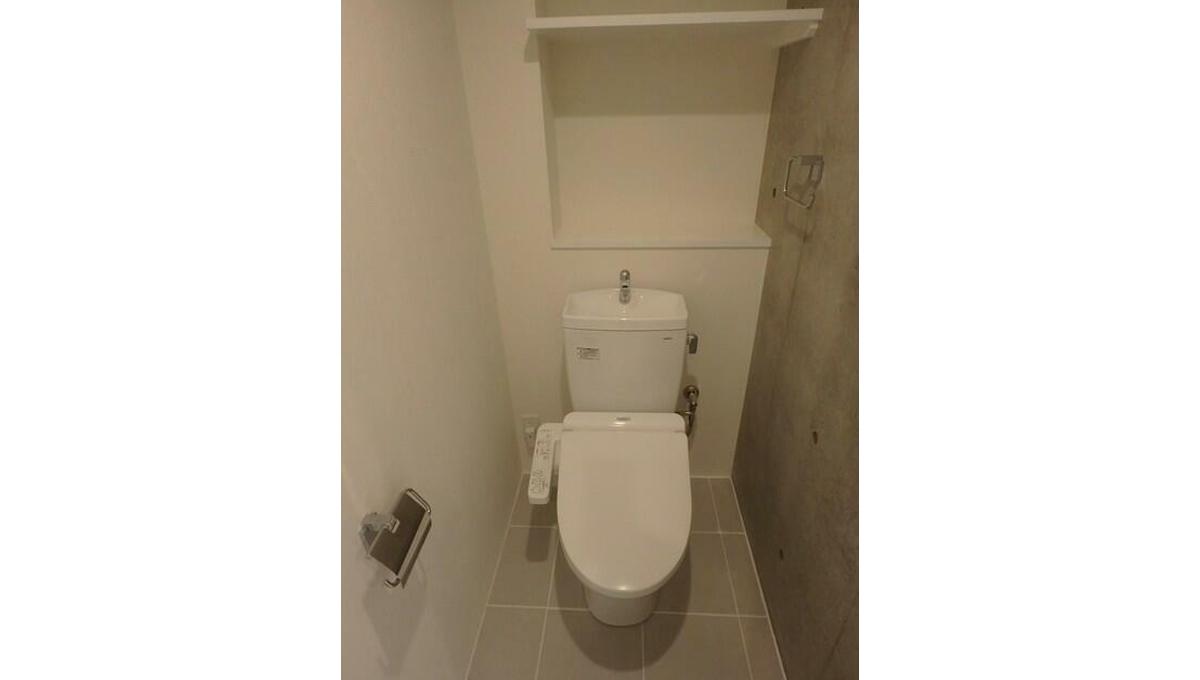 PASEO荏原中延(エバラナカノブ)のウォシュレット付きトイレ
