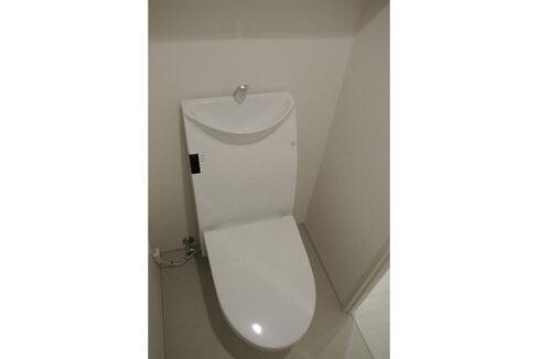 プレミアムキューブG西大井(ニシオオイ)のウォシュレット付トイレ