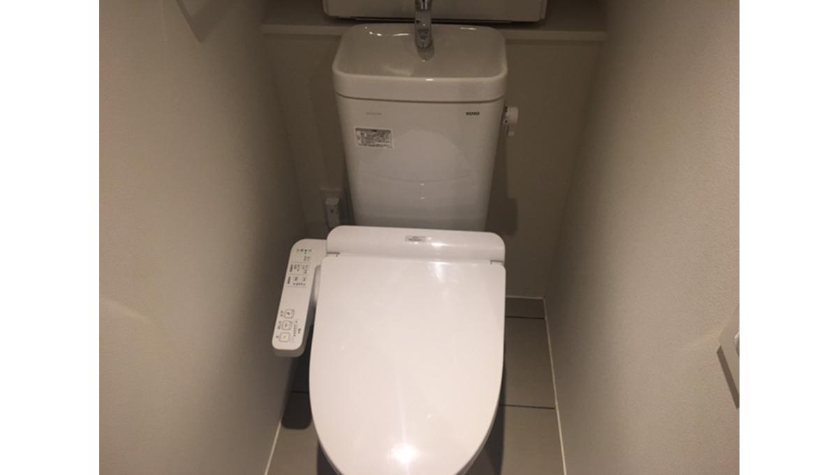 プロト大岡山(オオオカヤマ)Ⅱのウォシュレット付トイレ
