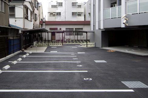 レジディア中延(ナカノブ)の駐車場