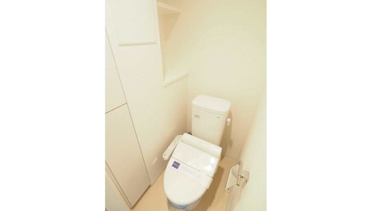 レジディア中延Ⅱ(ナカノブ)のウォシュレット付トイレ