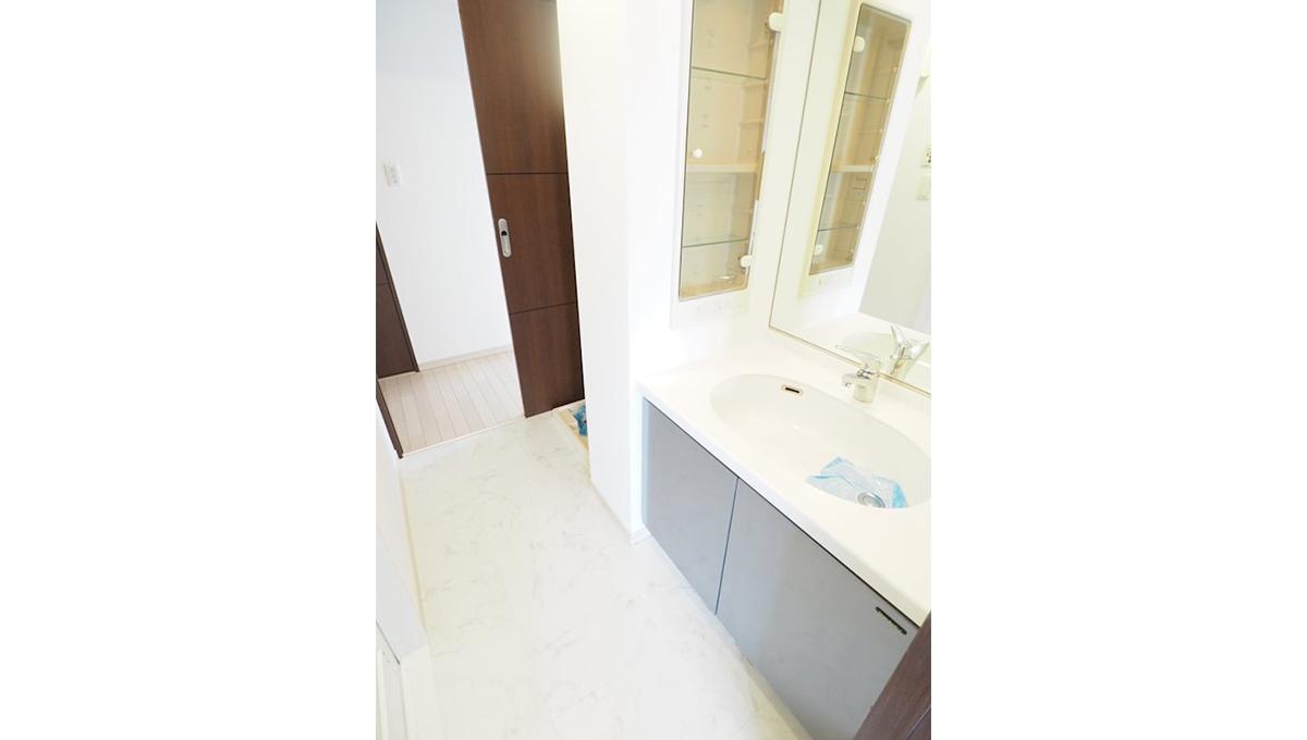 レジディア中延(ナカノブ)の独立洗面化粧台
