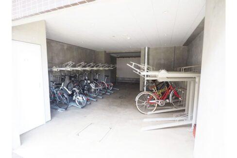 レジディア中延Ⅱ(ナカノブ)の駐輪場