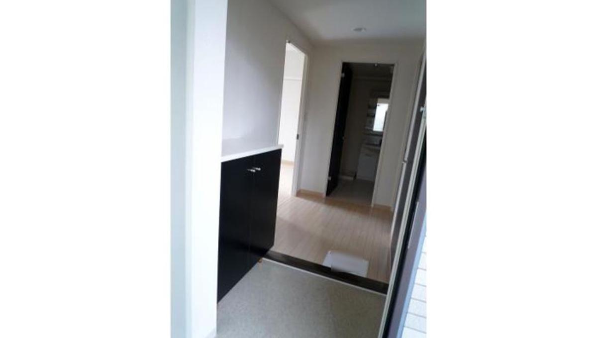 洗足第2マンション(センゾク)の玄関ホール