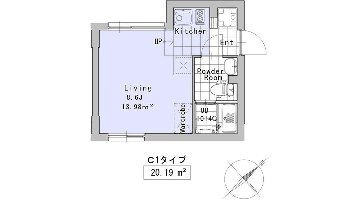SOU大井町(オオイマチ)の間取図