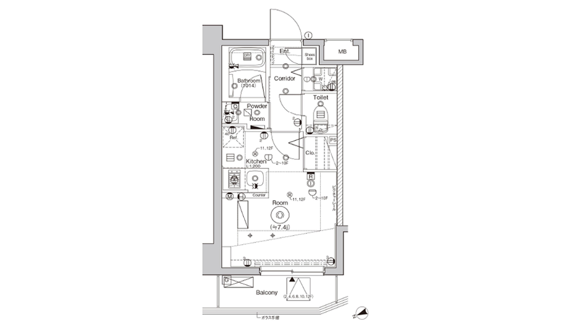 syforme-nishi-oi-floor-plan-303