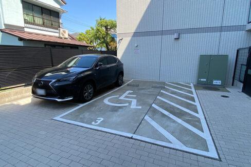 SYFOROME TOGOSHO-KOENⅡ(シーフォルムトゴシコウエン2)の駐車場