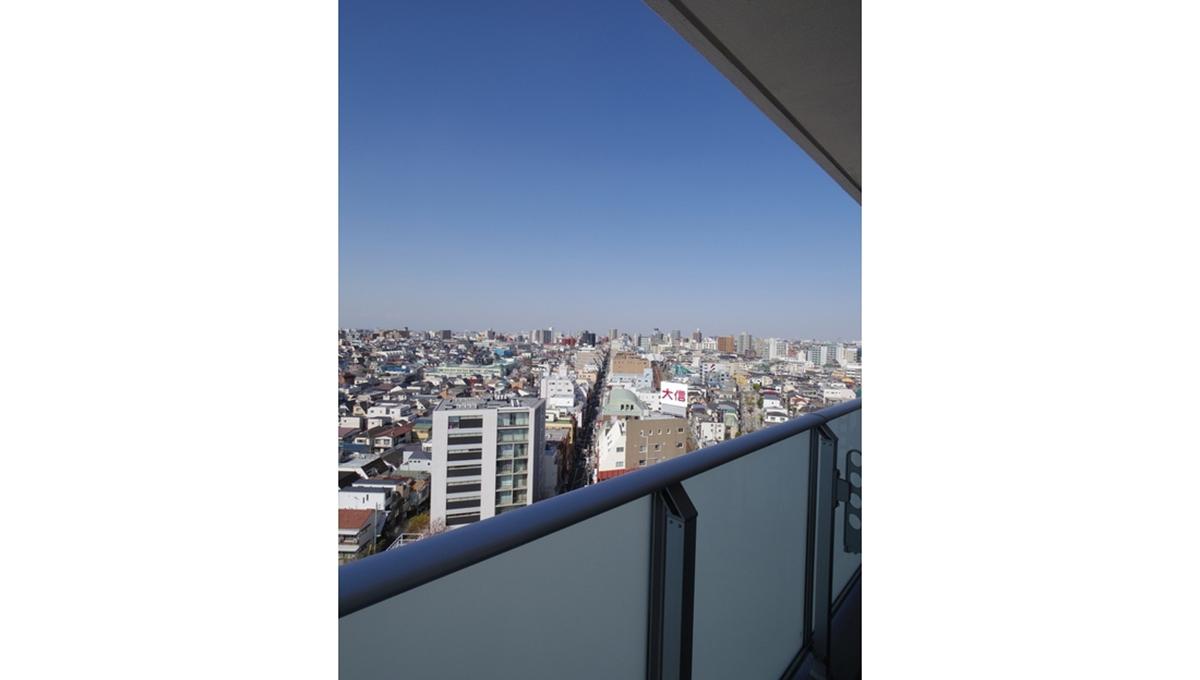ザ・パークハウス品川荏原町(シナガワエバラマチ)の眺望