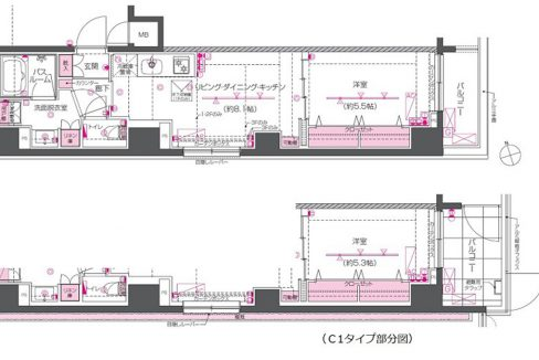 ZOOM戸越銀座(トゴシギンザ)の間取図