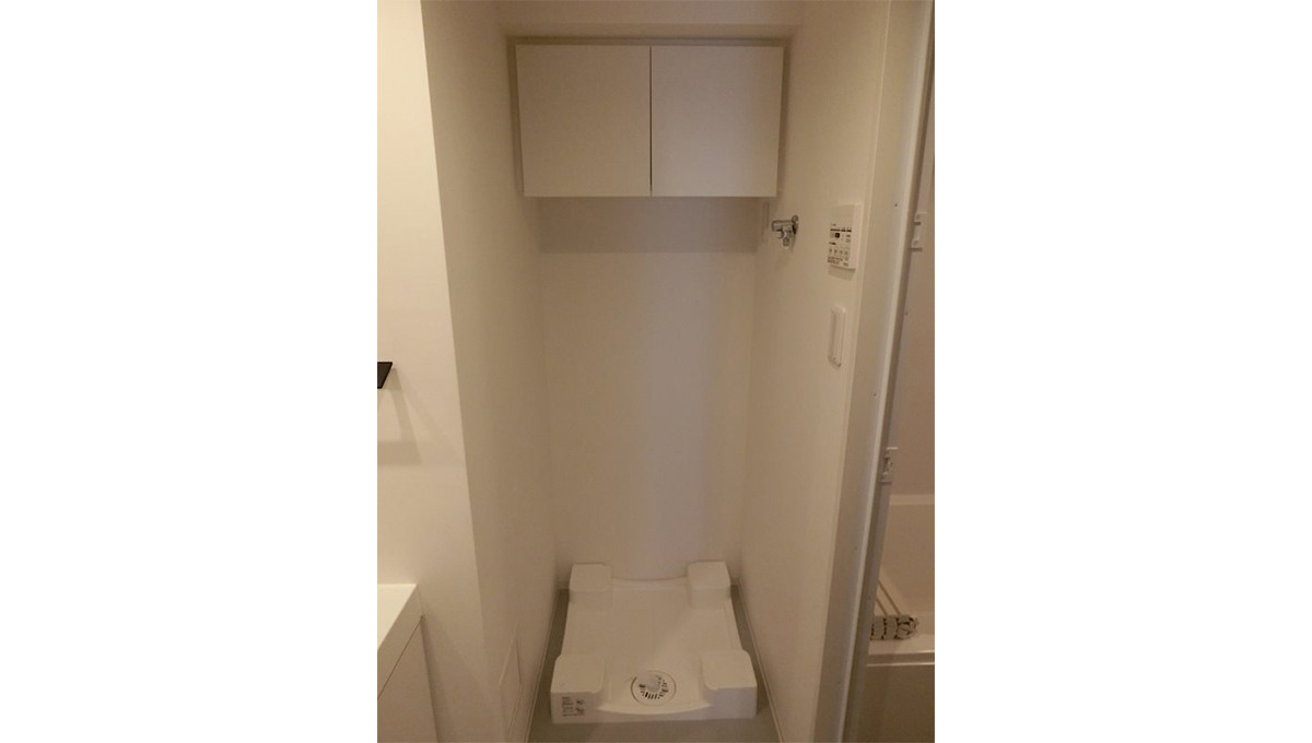ZOOM戸越銀座(トゴシギンザ)の洗濯機置場