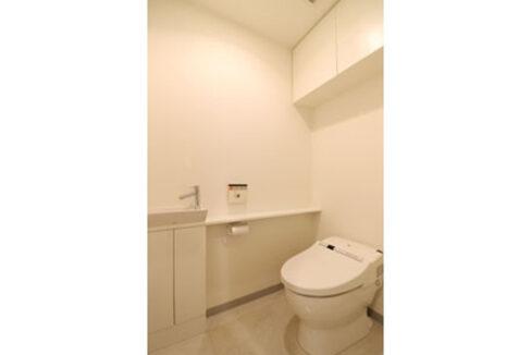アパートメンツ都立大学(トリツダイガク)のタンクレストイレ