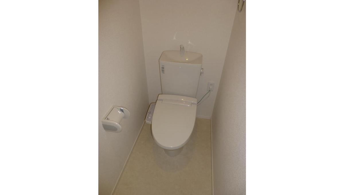 Boasorte Okusawa(ボアソルチ奥沢)のウォシュレット付トイレ