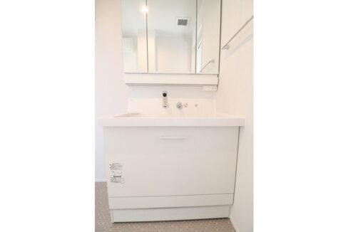 ボヌールREIWAの独立洗面台