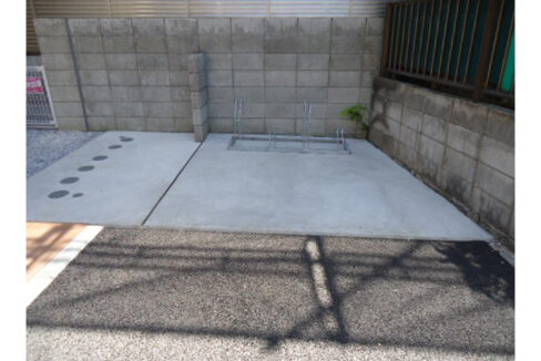 Charme maison上池台(カミイケダイ)の駐輪場