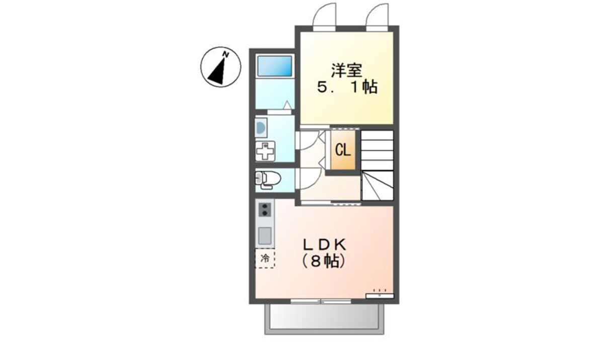 Charme maison上池台(カミイケダイ)の間取図
