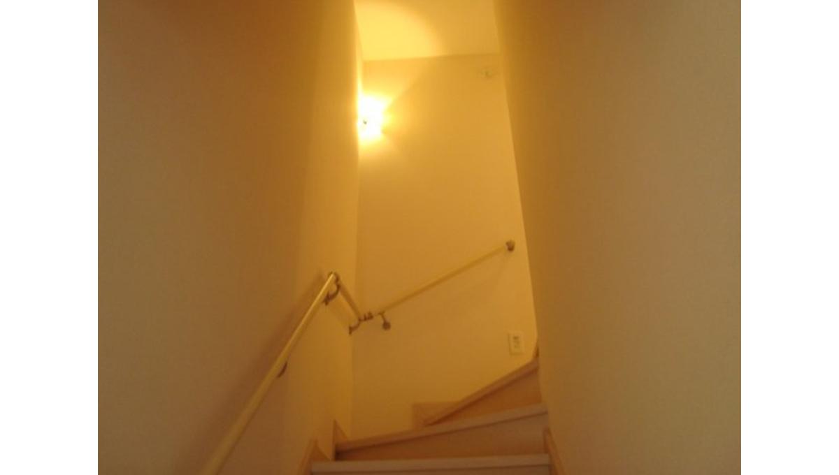 Charme maison上池台(カミイケダイ)の階段